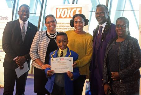 Judah Wins The Voice's Made By History Essay Competition